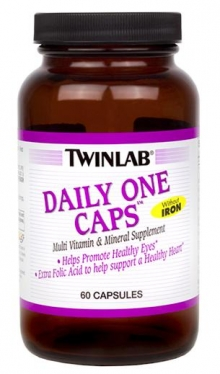 Daily One Caps Without Iron от Twinlab