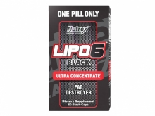 Nutrex Research Lipo 6 Black Ultra Concentrated