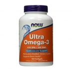 NOW Ultra Omega-3 180 caps