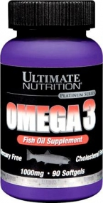 Ultimate Nutrition Omega-3 1000 мг