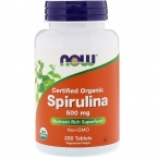 Natural Spirulina от  NOW