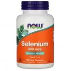 Selenium 200 мкг от Now Foods