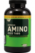 Superior Amino 2222 Tabs (160tab) / Оптимум Нутришн Амино 2222 банка 160таб